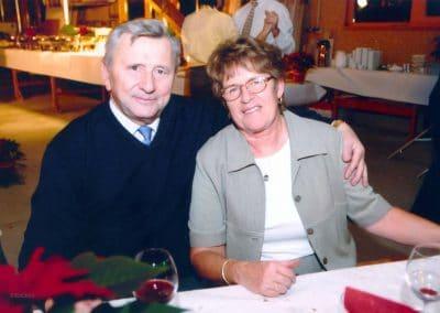 In lieber Erinnerung. Monika und Fritz Glock.