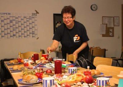 Nikolausfrühstück von Sigrid zum Zweiten!