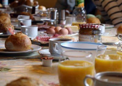 Noch einmal Frühstück...
