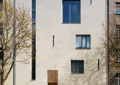 Artist House Leiko Ikemura- Fassade zur Straße - street elevation, © PhvM, Photo- Anita Back (1)