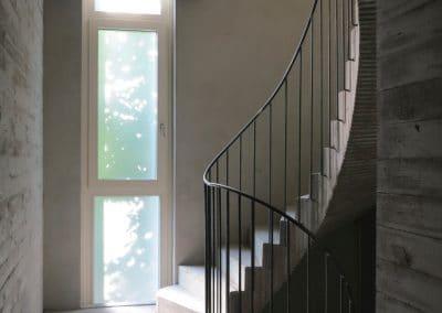 Artist House Leiko Ikemura- Treppenraum - stair case, © PhvM, Photo- Anita Back (1)