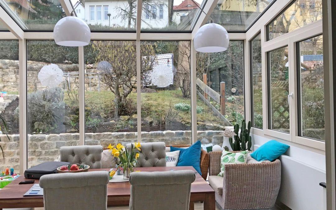 Mit Wintergärten Räume erweitern