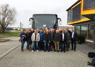 Firmenausflug-WÜRTH_Abfahrt
