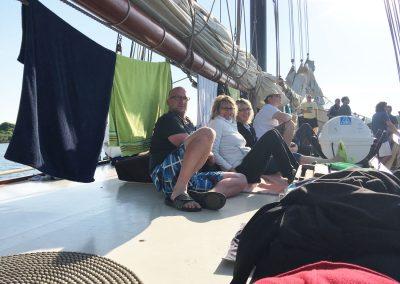 2018_Firmenausflug ab Kiel mit dem Segelschiff