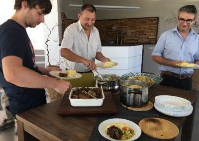Chefgeburtstag_Klopse mit Kartoffelsalat für alle